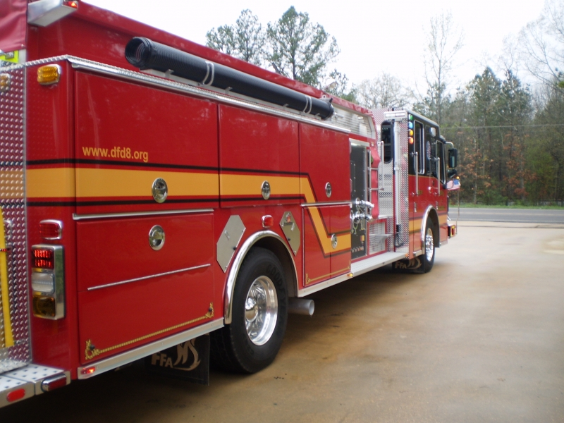 New Engine 811 Now In Service